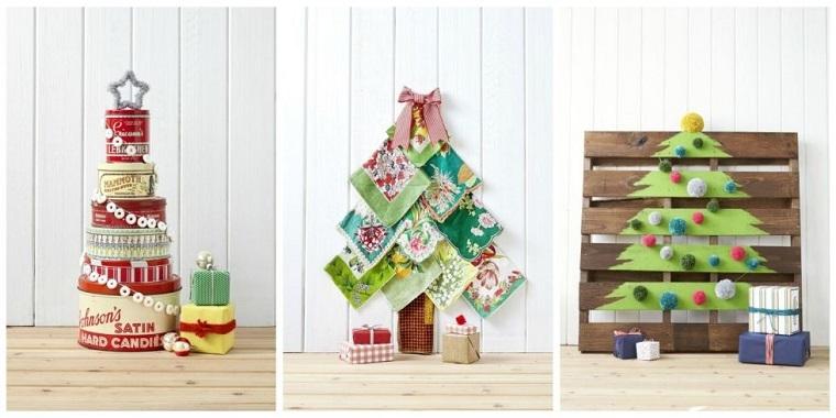 manuialidades de navidad-opciones-originales-decorar-casa