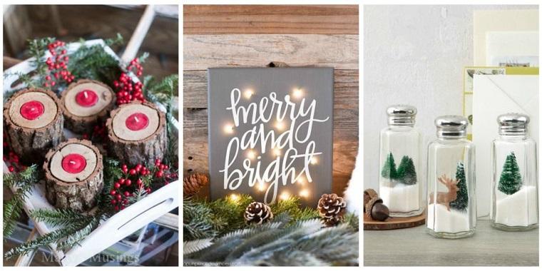 Manualidades de navidad e ideas para una decoraci n de lujo - Manualidades de navidad para hacer en casa ...