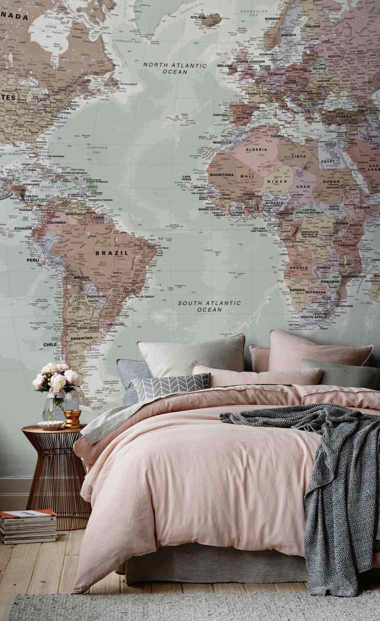 mapa-decorar-pared-casa-opciones-estilo