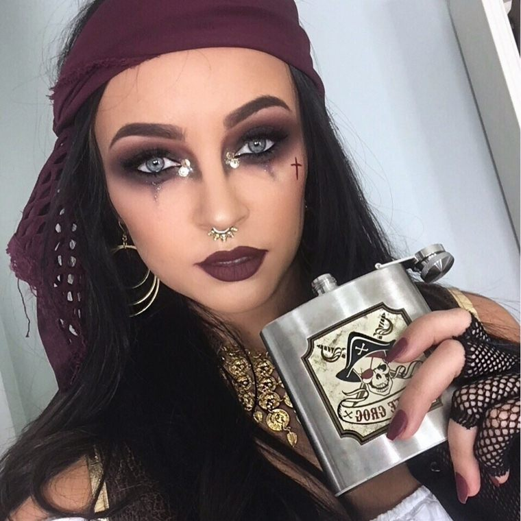 maquillaje Halloween mujer-pirata-opciones