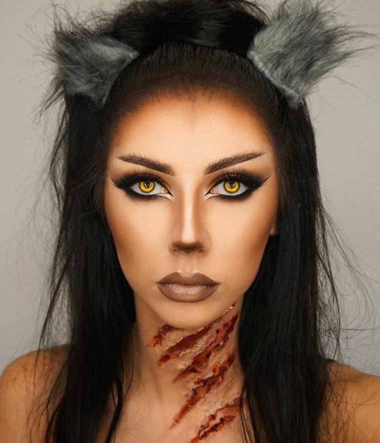 original maquillaje de Halloween