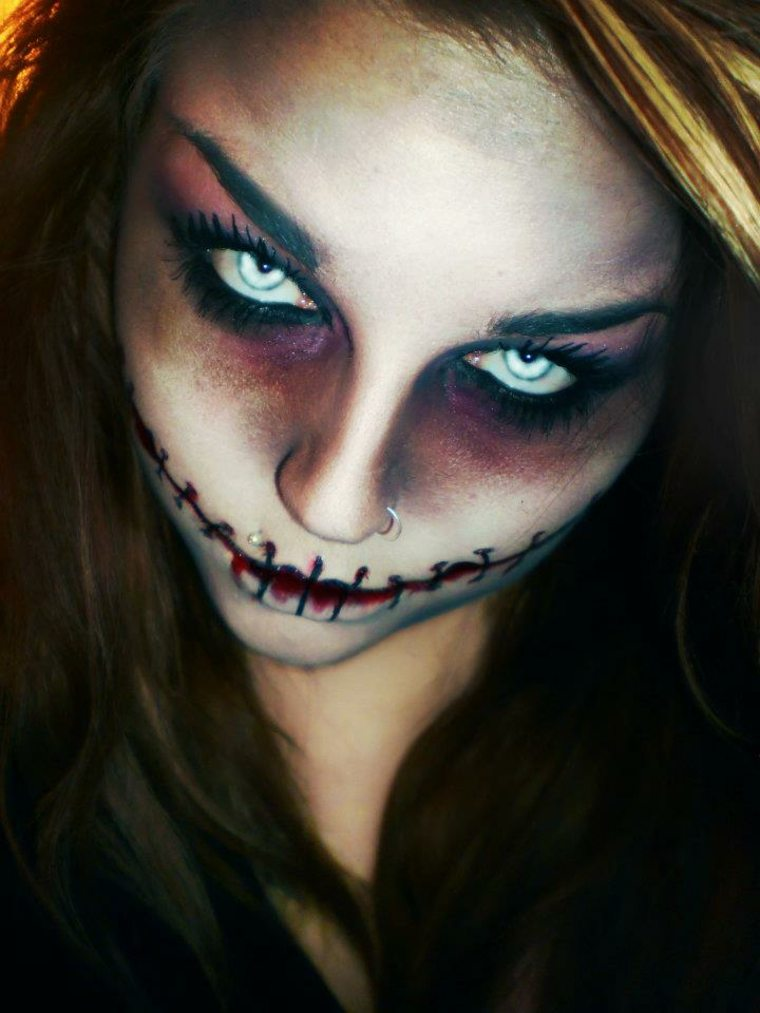 originales ideas para maquillaje de Halloween