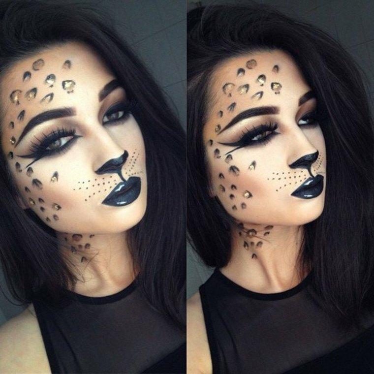 maquillaje de gata salvaje