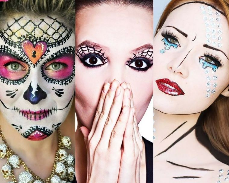 maquillaje-halloween-mujer-ideas-originales