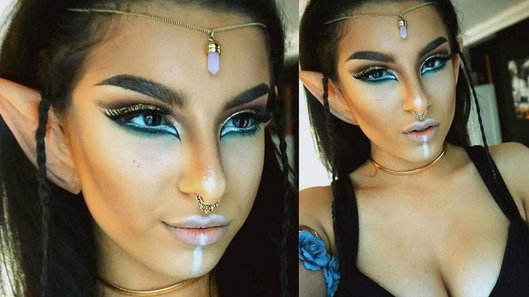 maquillaje-halloween-opciones-elfo-estilo