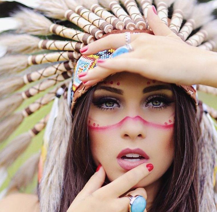 maquillaje-mujer-india-opciones-estilo