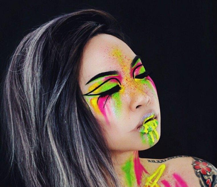 maquillaje-neon-opciones-fiesta-halloween