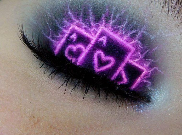 maquillaje-neon-opciones-originales-estilo