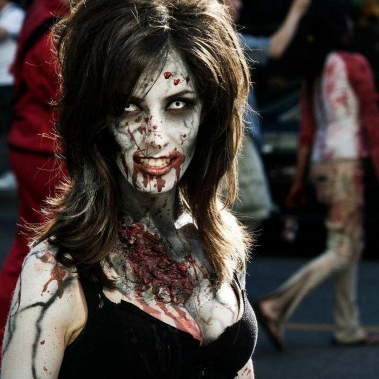 maquillaje de zombi