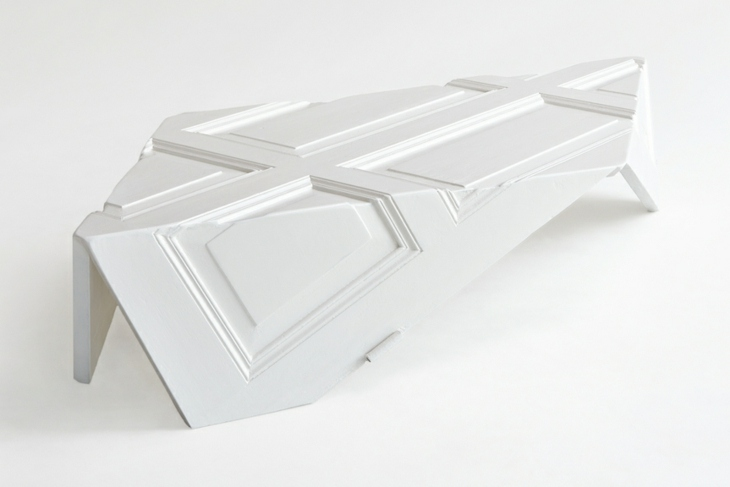 mesa centro tono blanco