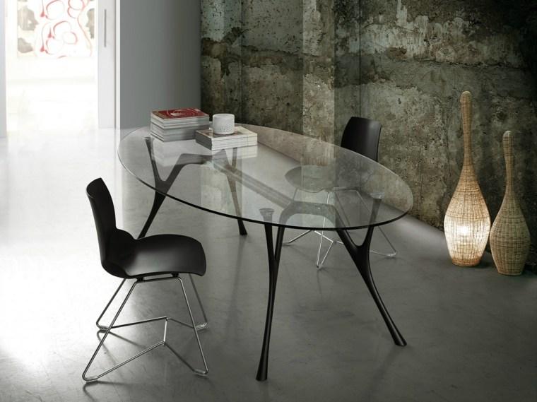 mesa-cristal-ovalada-diseno-Alessandro-Angelotti