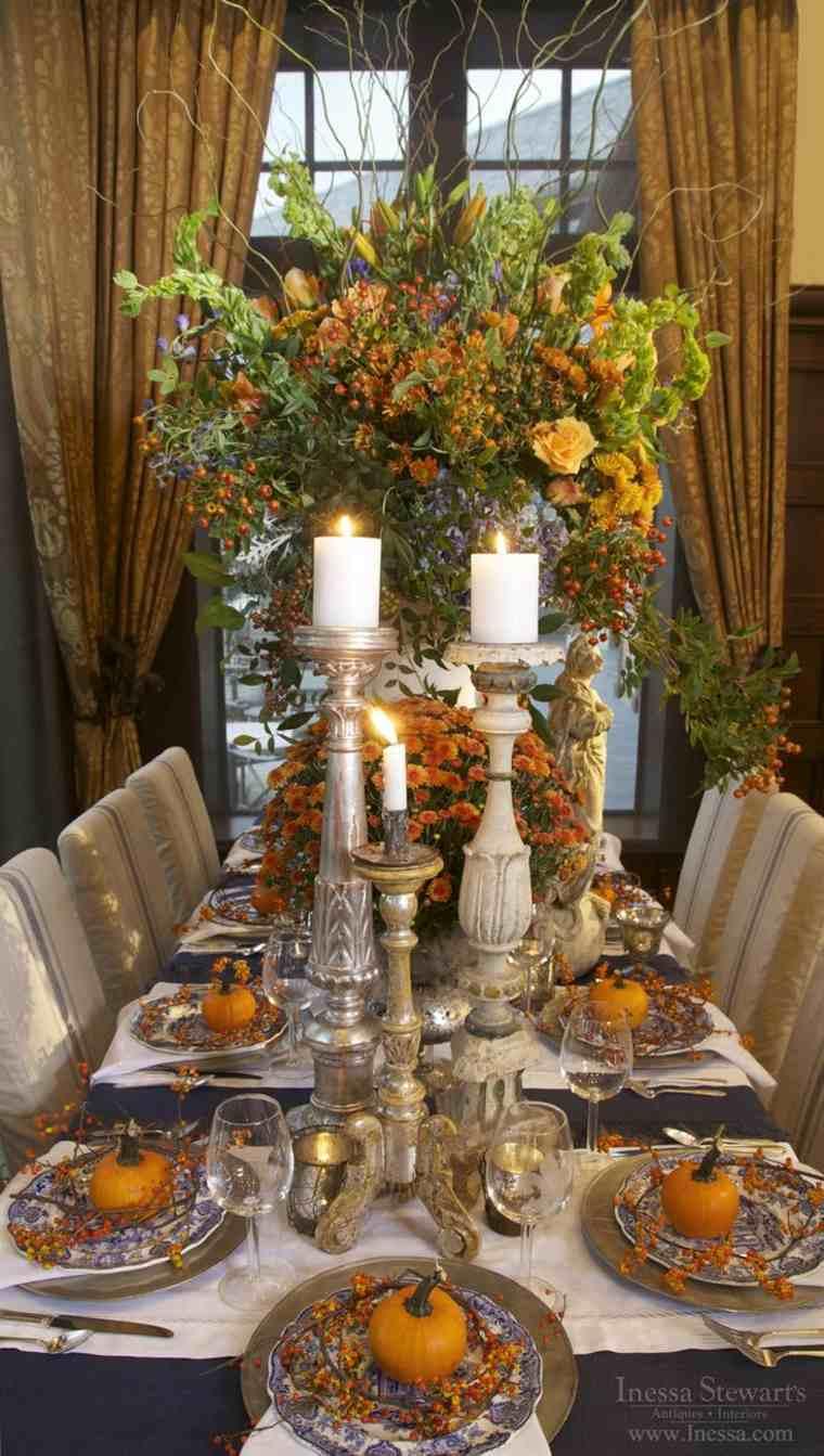 decoración de mesa elegante