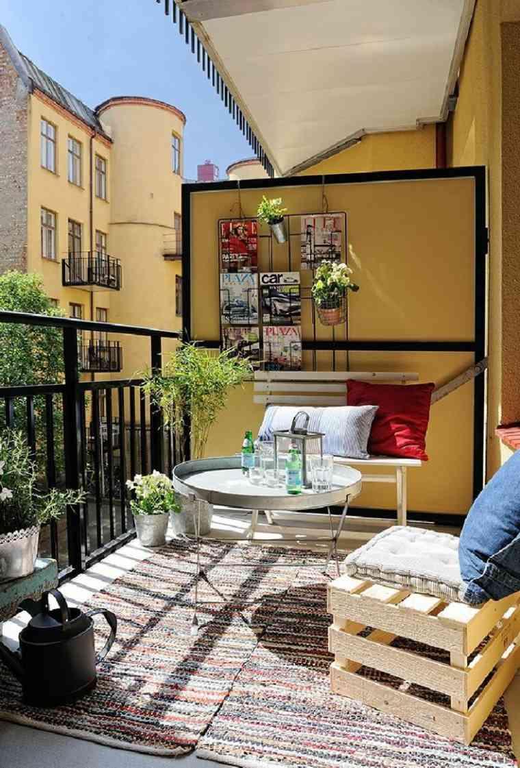 ideas para decorar balcones y terrazas modernas