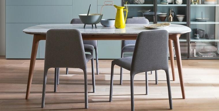Muebles de comedor modernos las tendencias para el 2018 for Muebles comedor diseno
