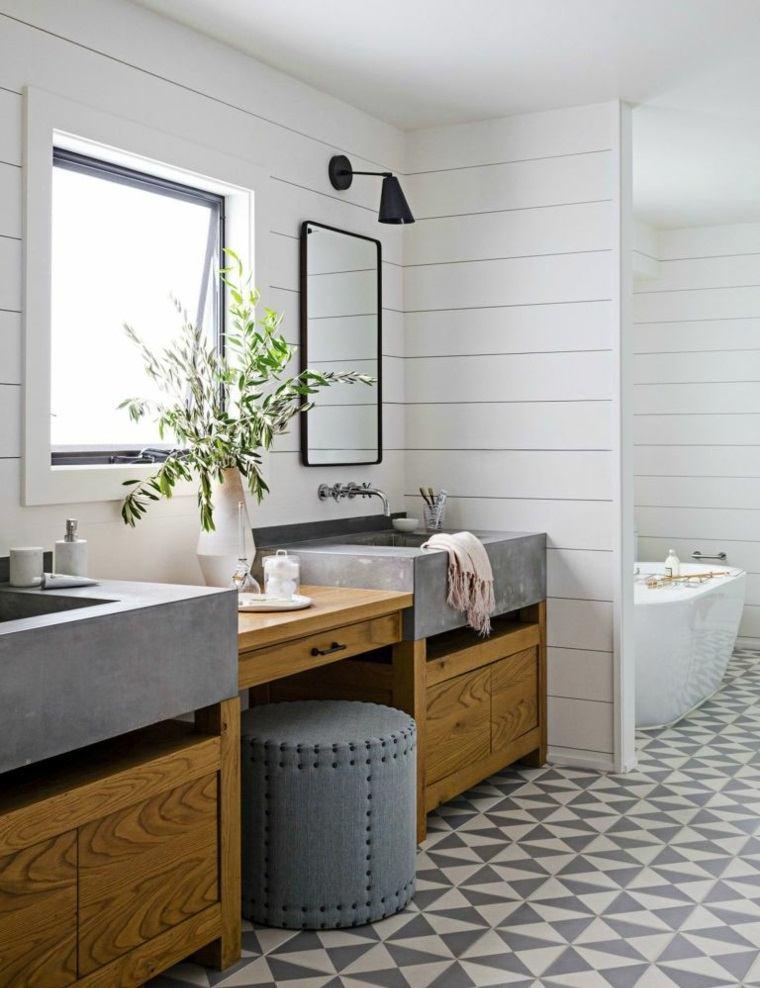 muebles-de-bano-modernos-2017-estilo-simple