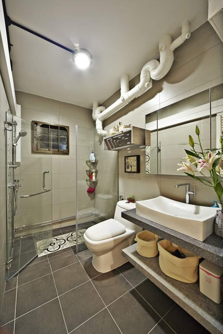 muebles de baño modernos interiores-modernos