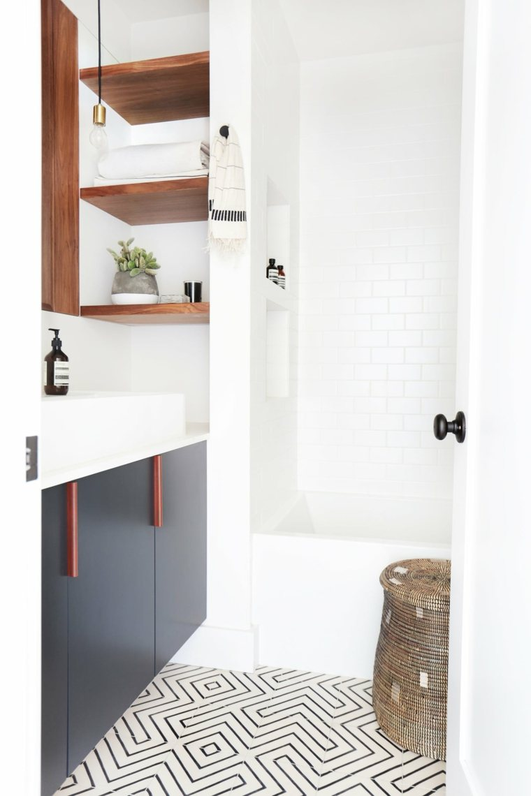 muebles de baño modernos interiores-taburete