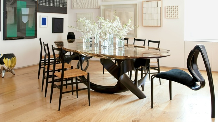 Muebles de comedor modernos las tendencias para el 2018 for Muebles modernos para cocina comedor