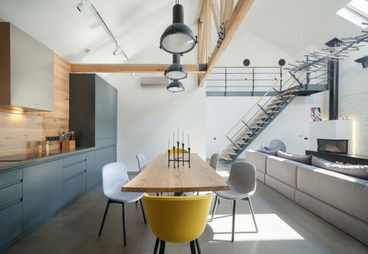 muebles de comedor modernos-casa-diseno-TSEH-Architectural-Group