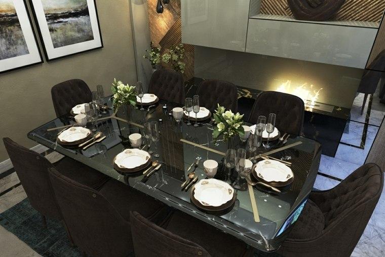 muebles de comedor modernos-contemporaneos-estilo