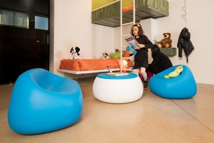 muebles infantiles colores claros