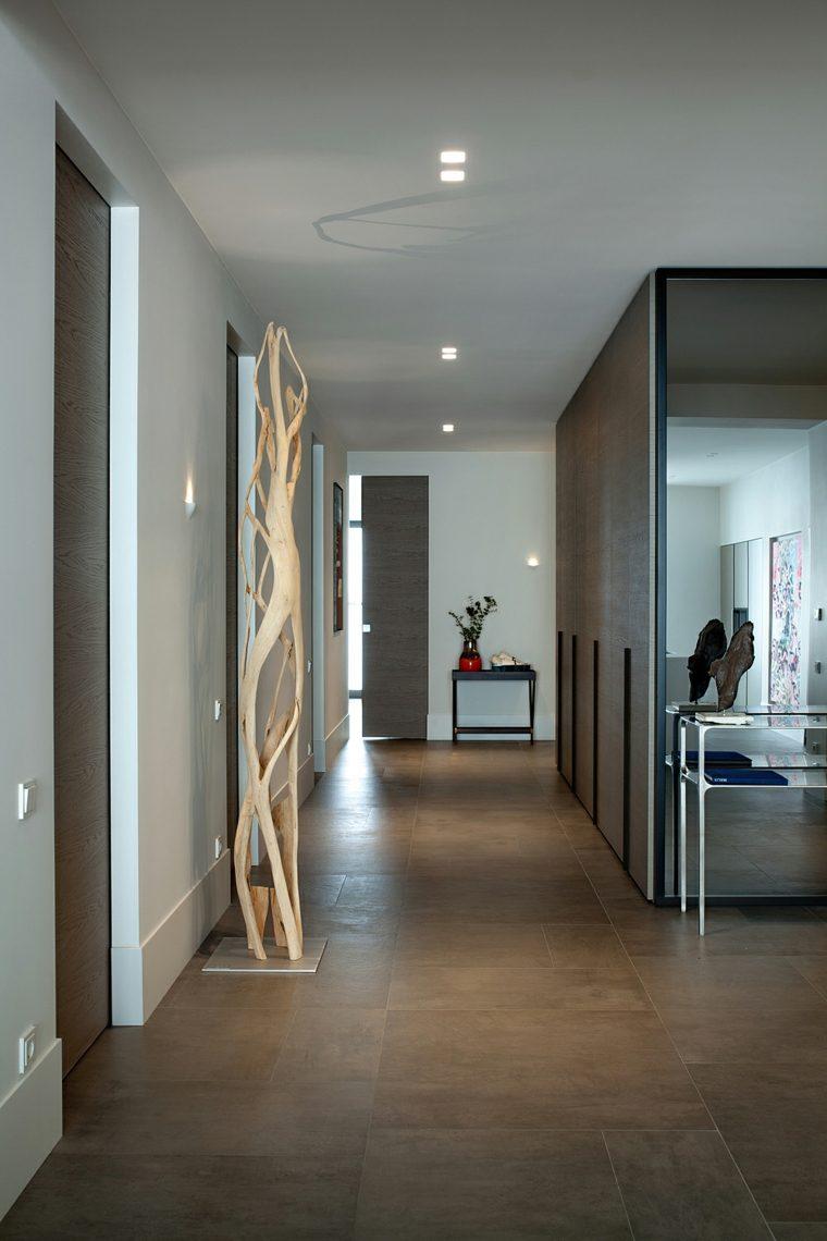 muebles recibidor-pasillo-entrada-detalles-simples