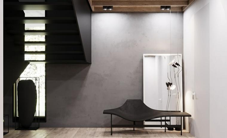muebles recibidor-pasillo-entrada--estilo-contemporaneo