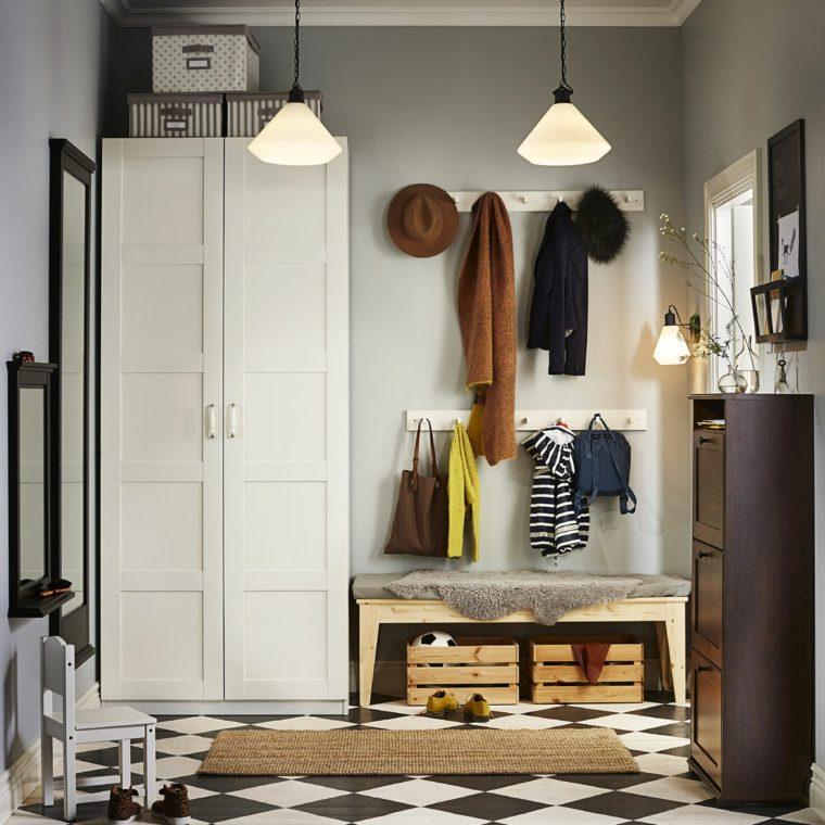 muebles-recibidor-pasillo-entrada-ideas-almacenamiento