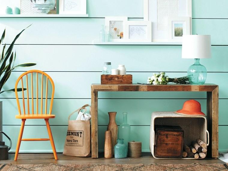 muebles recibidor pasillo entrada ideas clasicos - Ideas Recibidor