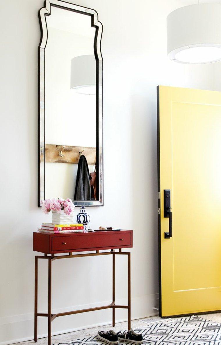 Muebles recibidor pasillo o entrada e ideas para un dise o - Espejos para pasillos ...
