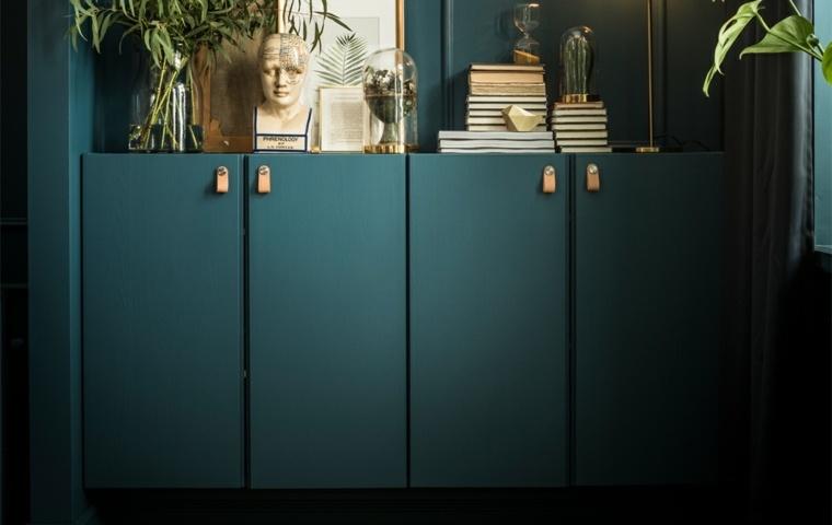 nuevo catálogo ikea-2018-opciones-estilo-muebles-verde-azulado