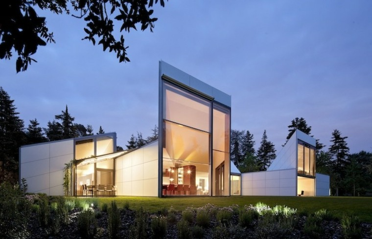 Casa AA diseñada por OAB