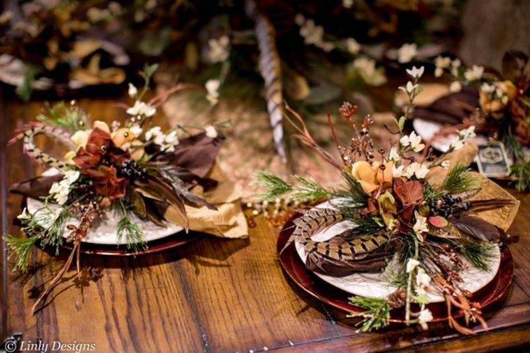 decoración de mesa original