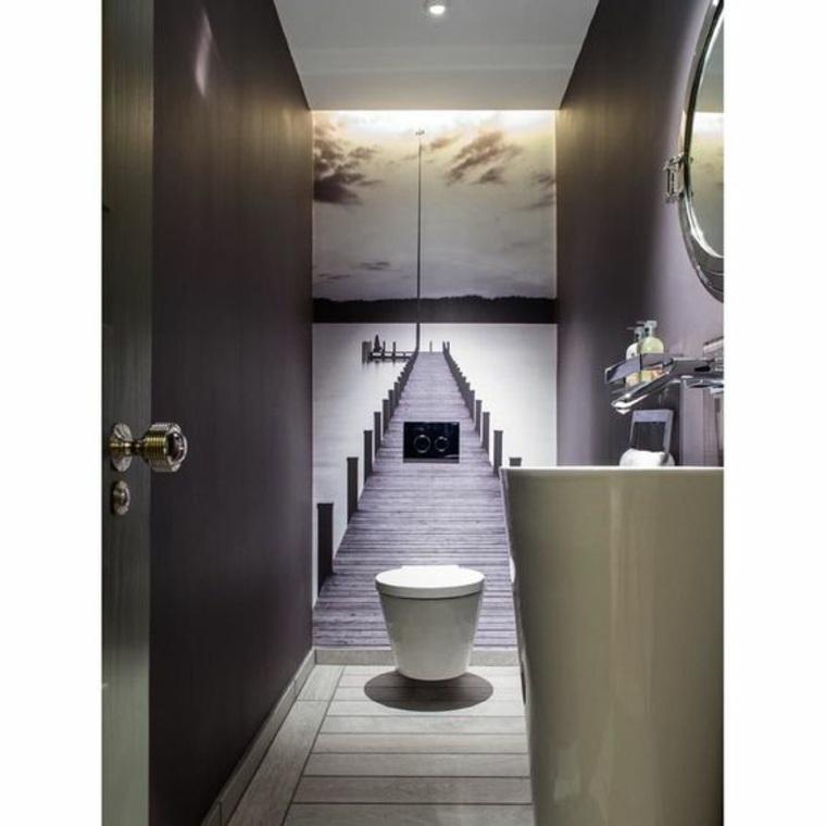 papel para paredes de baño