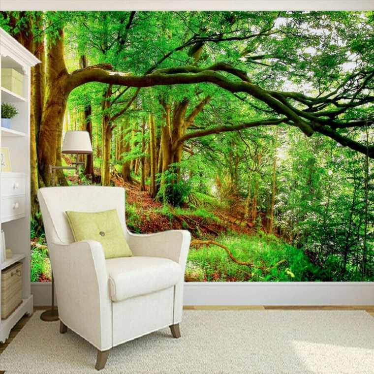 papel para paredes con imágenes de paisajes
