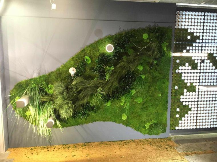 vertical moss garden for office