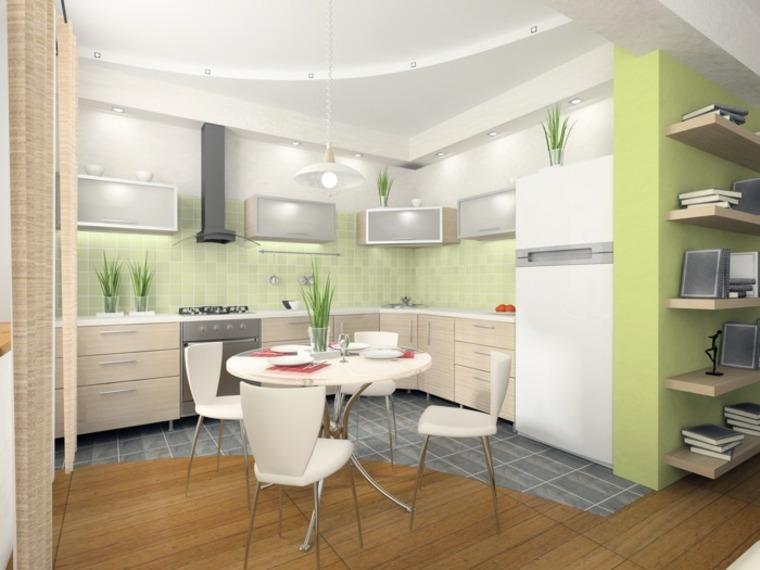 Cocinas Verdes Deja Que El Color Verde Inunde Tu Cocina