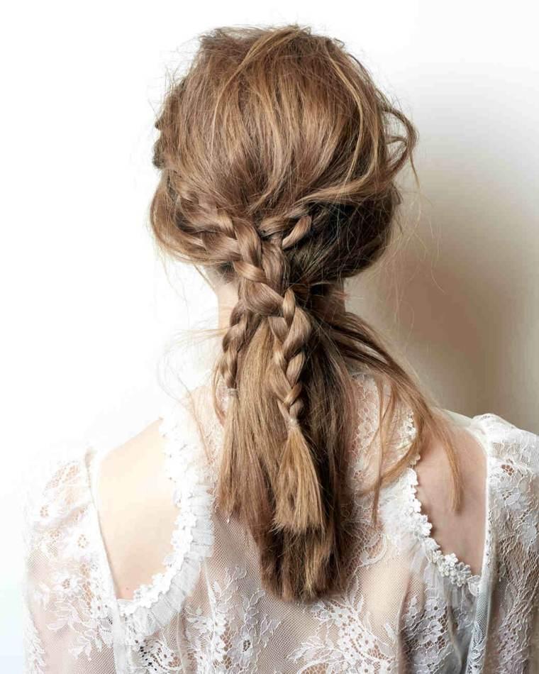 Peinados Para Boda Ideas Para Invitadas Con Cabello Largo
