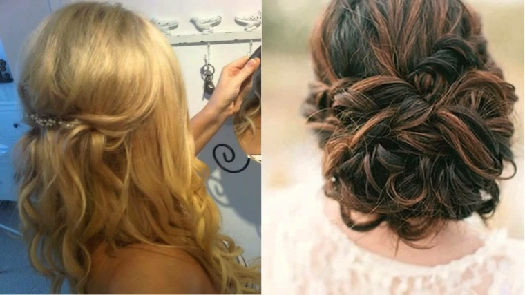 Hair Style Up For Wedding: Ideas Para Invitadas Con Cabello Largo