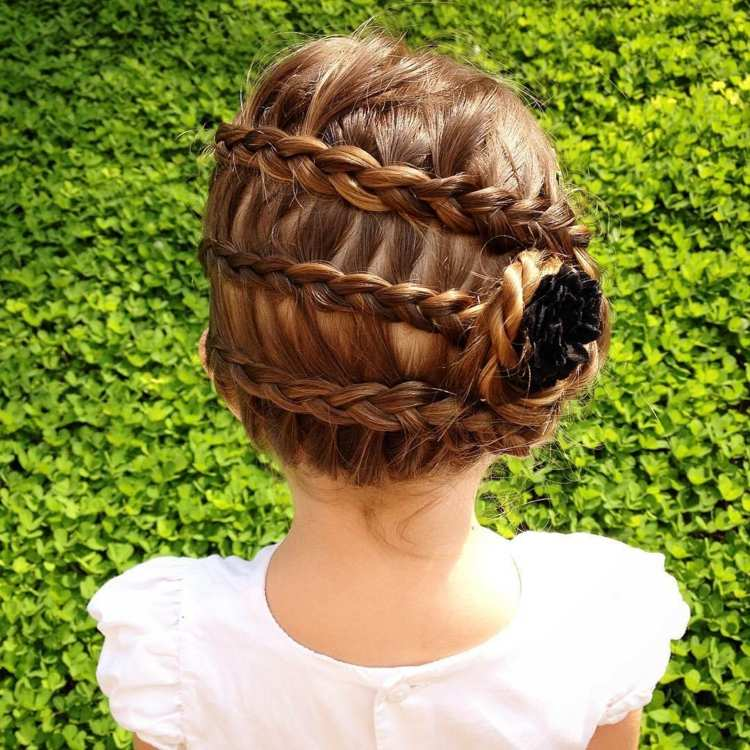 peinados para niñas soluciones practicas