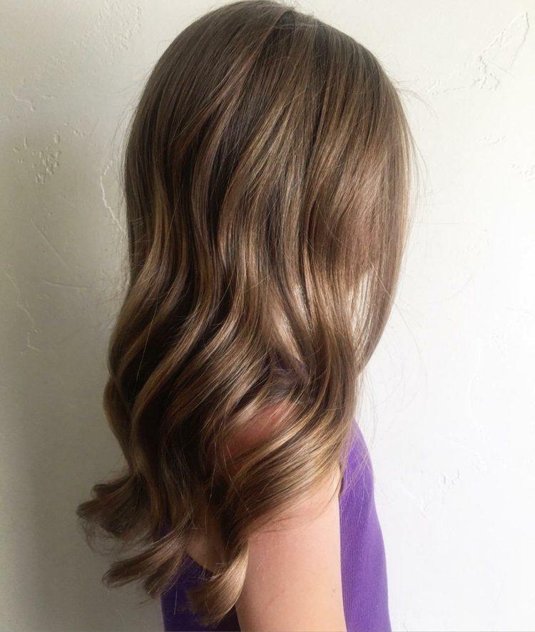pelo suelo largo elegante