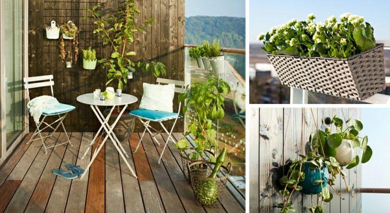 muebles para balcones y terrazas modernas