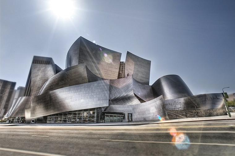 imagen del edificio Walt Disney Concert Hall