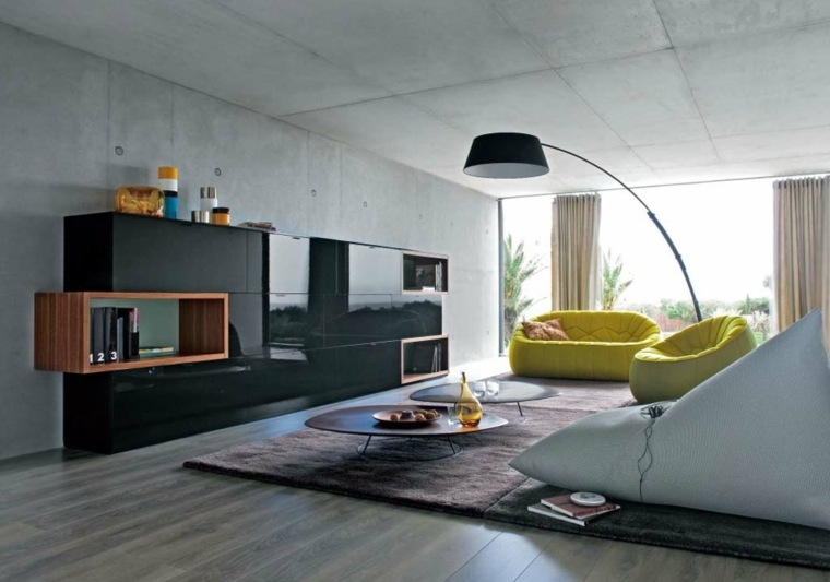 original diseño de sala de estar minimalista