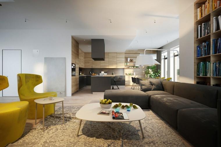 original diseño de salón minimalista