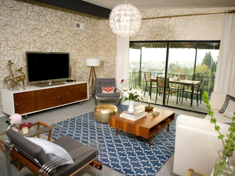 salón moderno