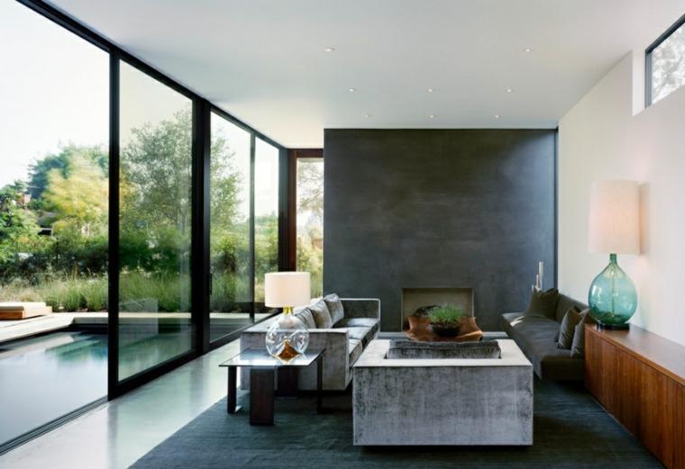 diseño de salón minimalista