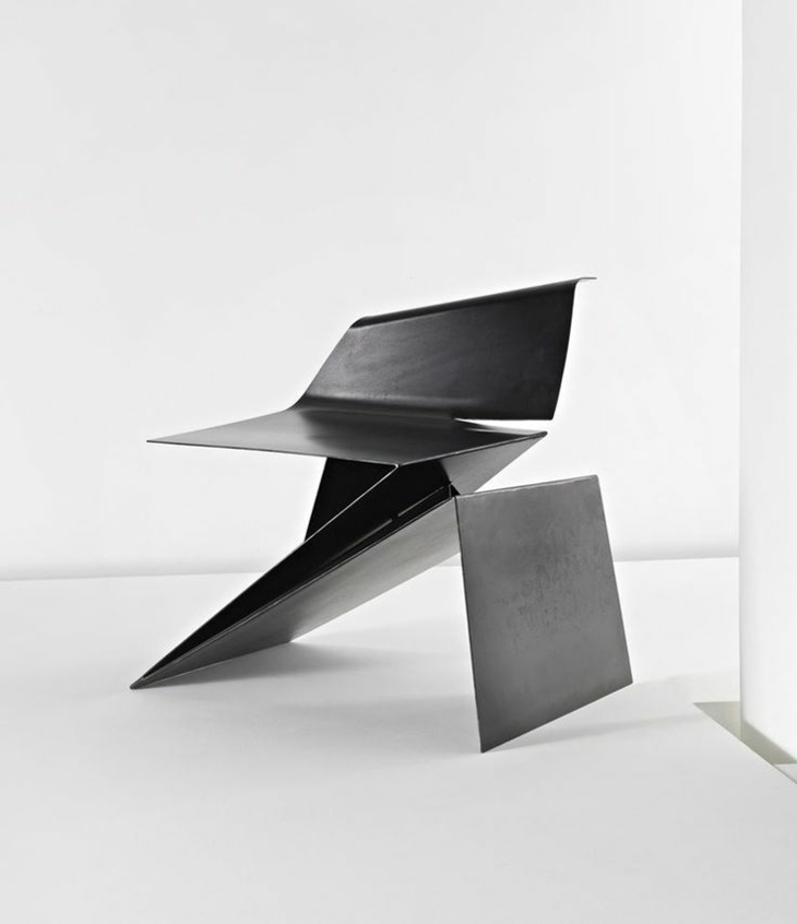 silla minimalista estilo moderno