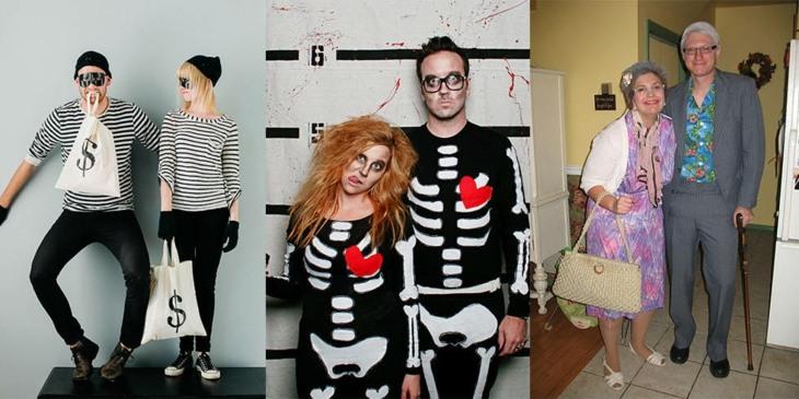 variantes disfraces pareja halloween