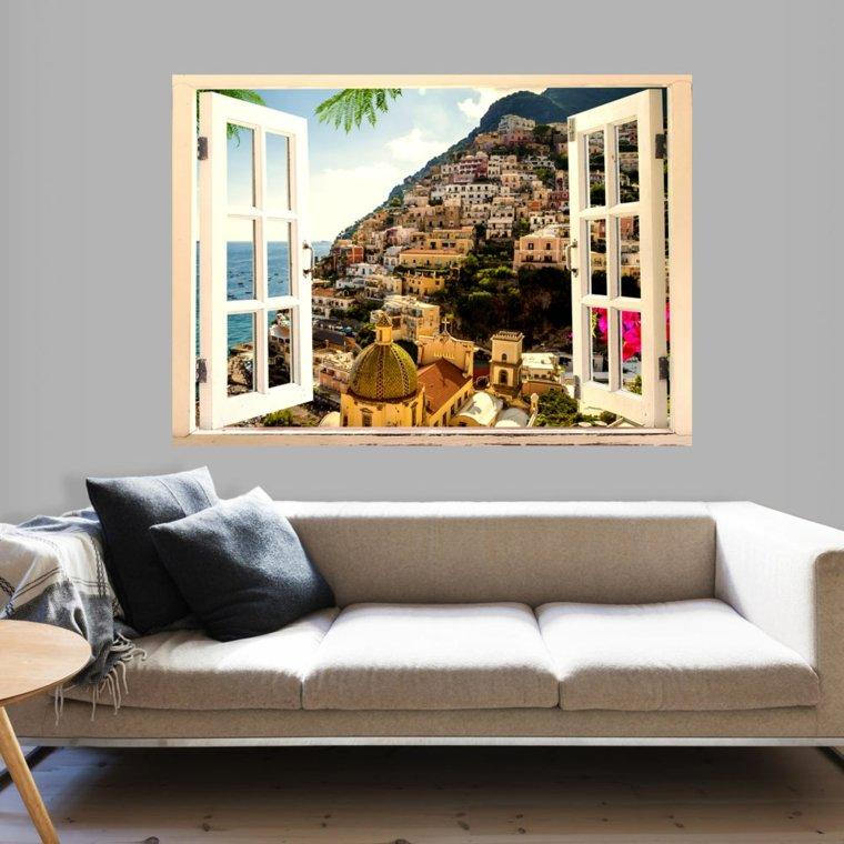 papel para paredes con paisajes